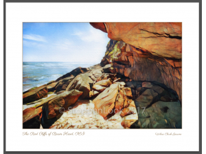 'The Red Cliffs of Basin Head'